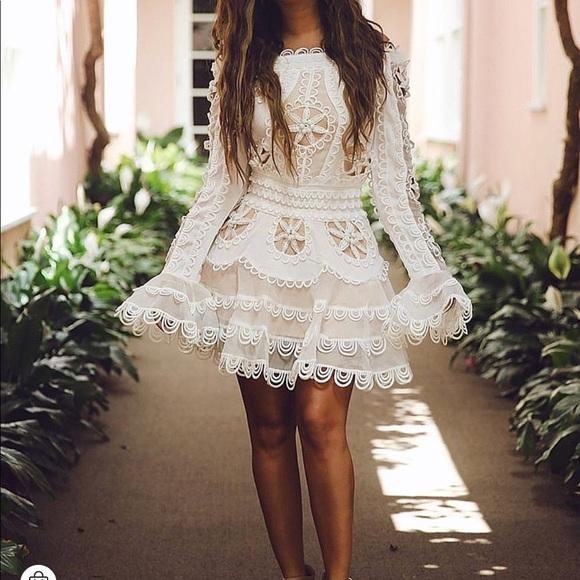 88b1177f6e ZCrave White Lace Sexy Mini Dress. M 5bf49565aa8770d020007ae8